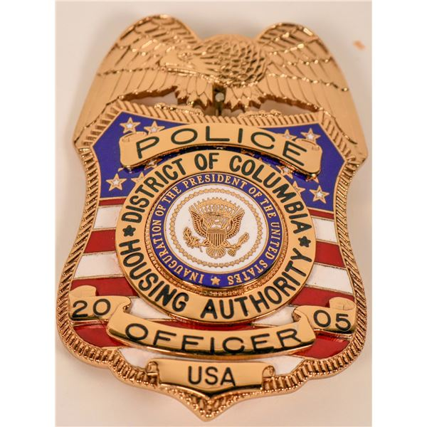 District of Columbia Housing Authority Inaugural Badge  [135513]