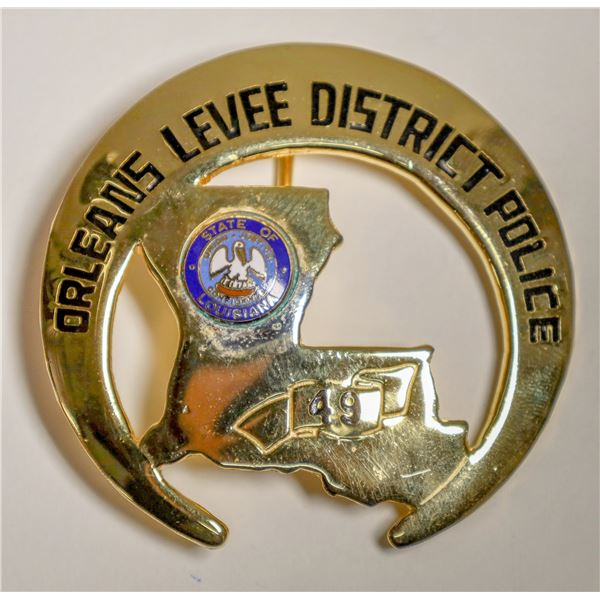 New Orleans Levee District Police Badge  [132236]