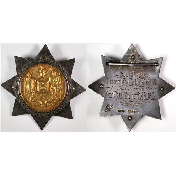 Ancient Order of Druids Badge  [124032]