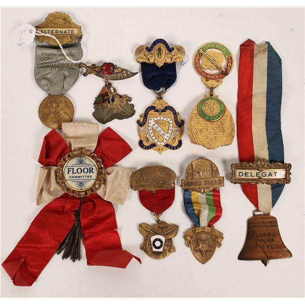 Fraternal Organization Convention Badges  [120344]