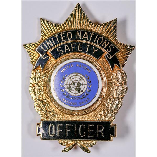 United Nation Safety Officer's Badge  [132239]