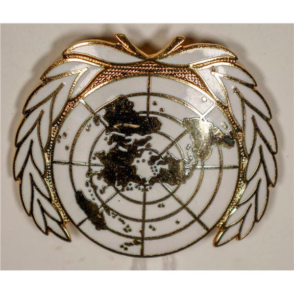 United Nations Hat Badge  [132233]