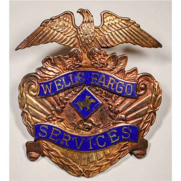 Wells Fargo Hat Badge  [132232]