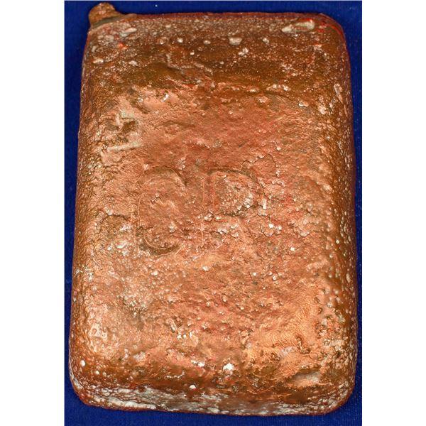 Copper Range Ingot - 4.2 Pounds  [132442]