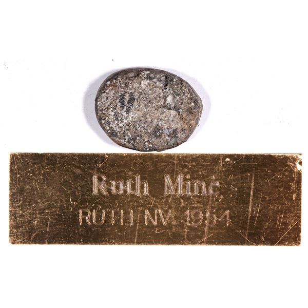 Ruth Mine Gold and Silver Ingot  [132120]