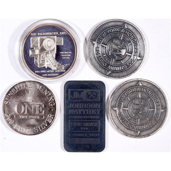 Mining Company Silver   [132138]