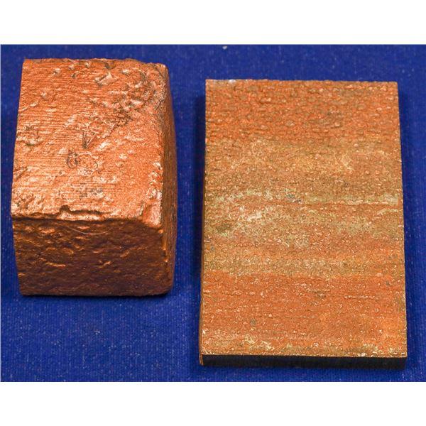 Anode Copper Mini-Ingot and Copper Cathode Slab  [132520]