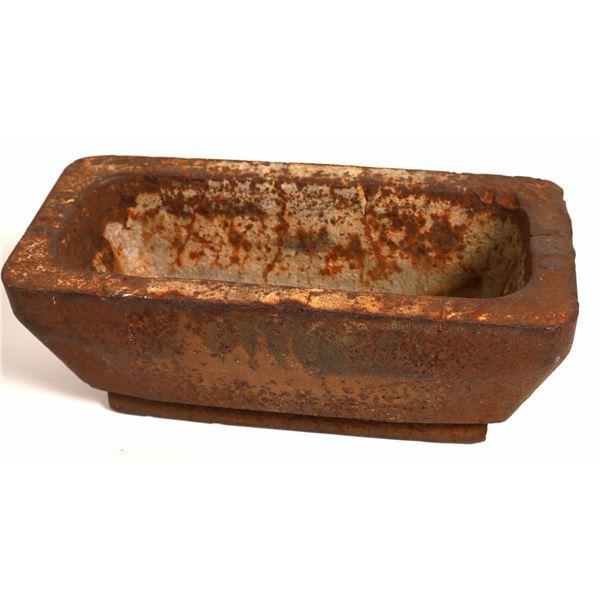 Cast Iron Ingot Mold  [132477]