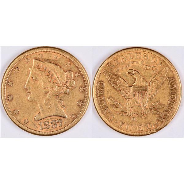 U.S. $5 Gold Piece  [124789]