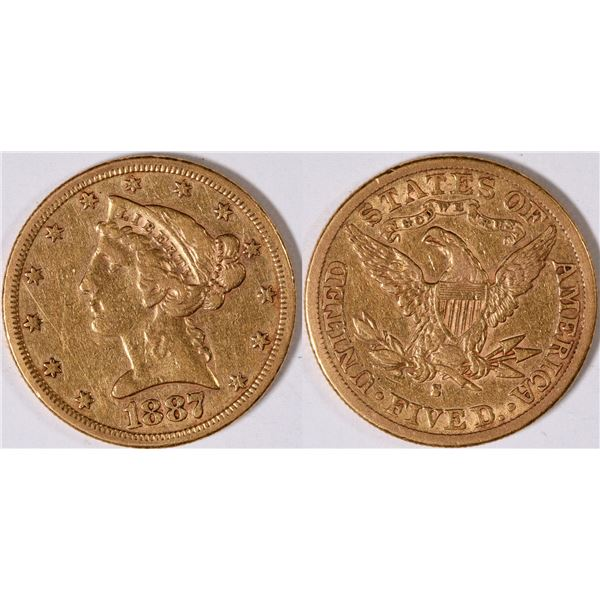 U.S. $5 Gold Piece  [131176]