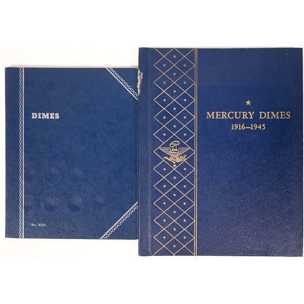 U.S. Dime Coin Albums  [124796]