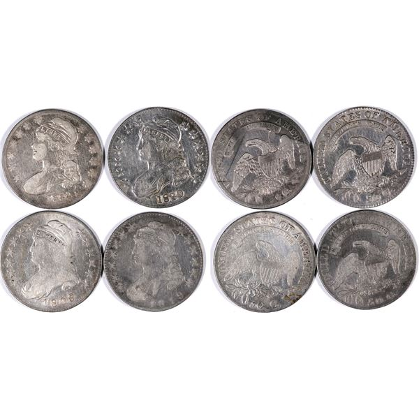 Capped Bust Half Dollar Group  [132048]