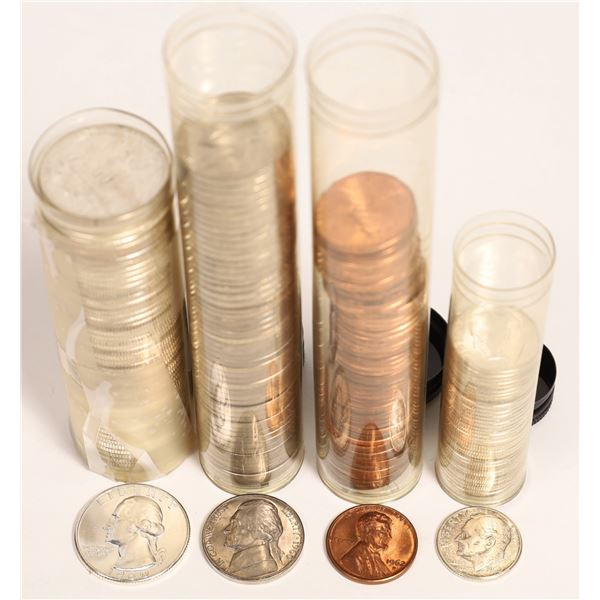 Coin in Vintage Clearsite Tubes  [131188]