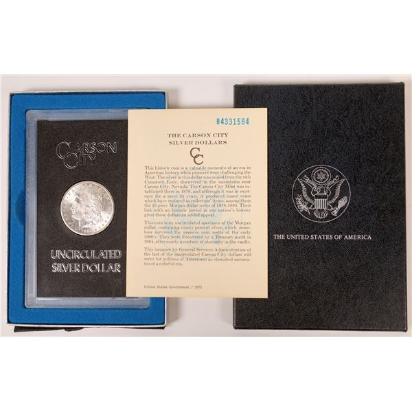1884 GSA Carson City Dollar  [126099]