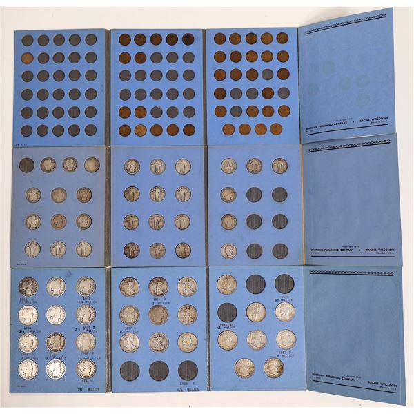 U.S. Coin Albums  [124799]