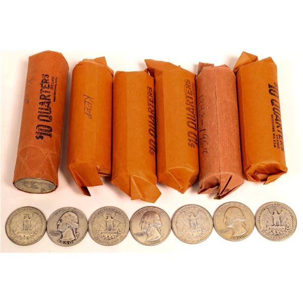 Washington Quarter Rolls  [131185]