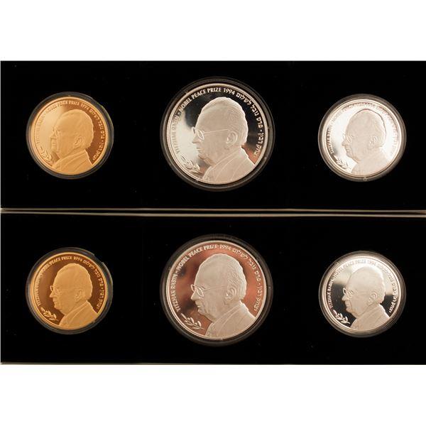 Yitzhak Rabin Commemorative Coin Sets.  [135594]