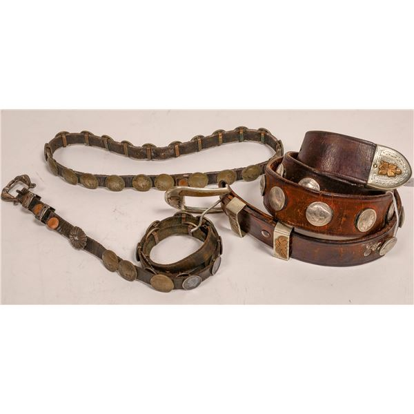 Matching Mens and Womens Coin Belts and Hat Band  [132037]