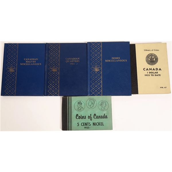 Canadian Coin Albums  [131155]