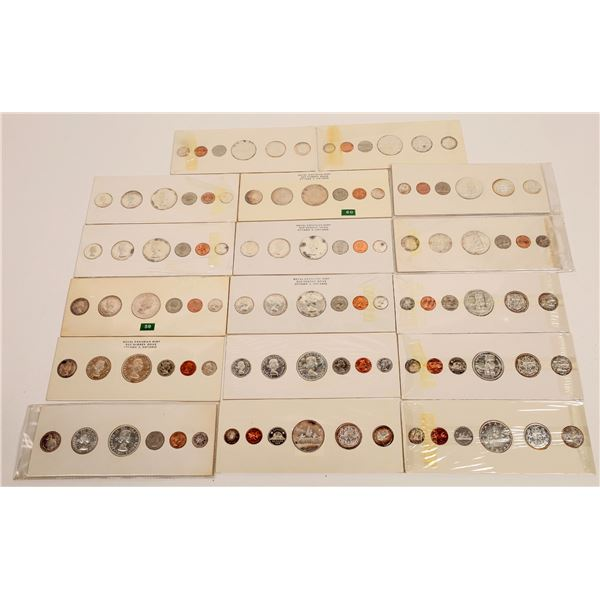Canadian Uncirculated Sets 1955-1960  [131162]