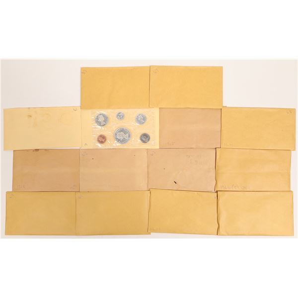 Canadian Uncirculated Sets 1961-1967  [131164]