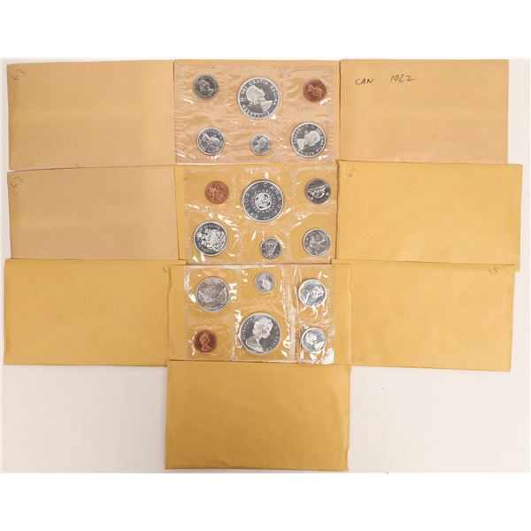 Canadian Uncirculated Sets 1962-1966  [131165]