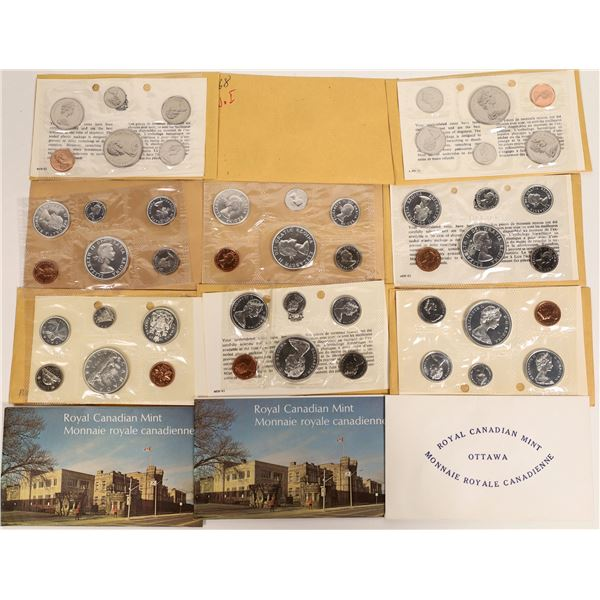 Canadian Uncirculated Sets 1962-1974  [131167]