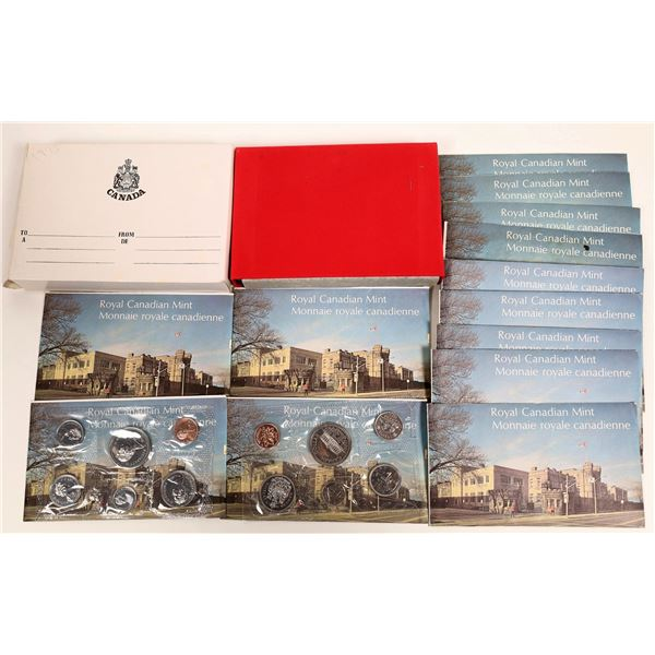 Canadian Uncirculated Sets 1973-1975  [131174]