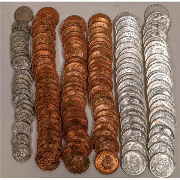 Mexico BU Coin Rolls  [132041]