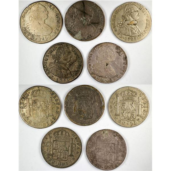 Carolus  IIII Mexican reale Counters  [135504]