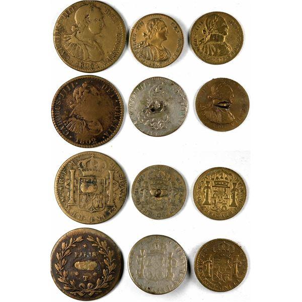 Carolus IIII various reales  [135503]
