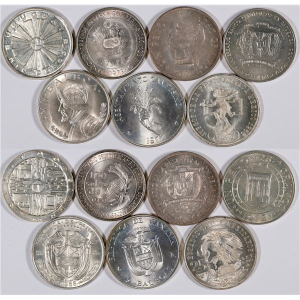 Silver Central and South American Coin Collection  [132052]