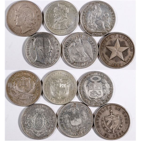 Vintage Central American Silver Coins  [132053]