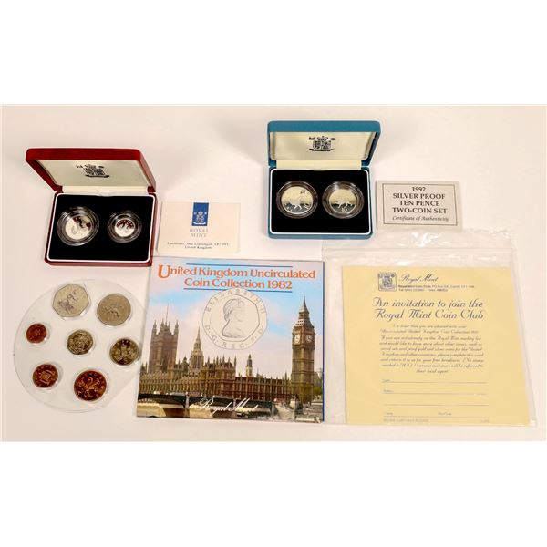 Royal Mint Silver Proof 2-Coin Sets Plus Bonus  [134042]
