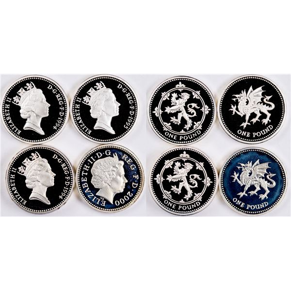 Royal Mint Silver Proof Coin Sets: 1994, 1995, 2000  [134039]