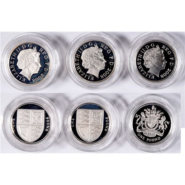 Royal Mint Silver Proof Coin Sets: 2008  [134043]