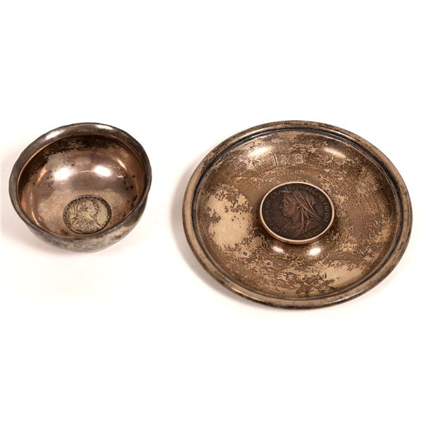 English Silver Coin Bowls  [131200]