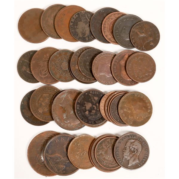 World Copper Coins  [132501]