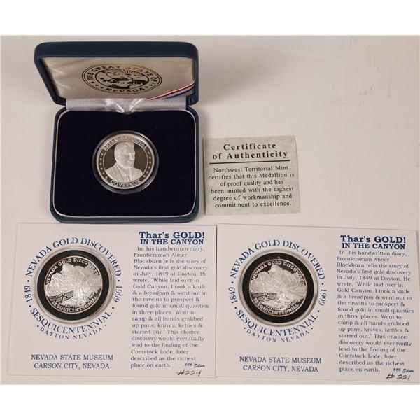 Nevada Silver Medallions  [126092]