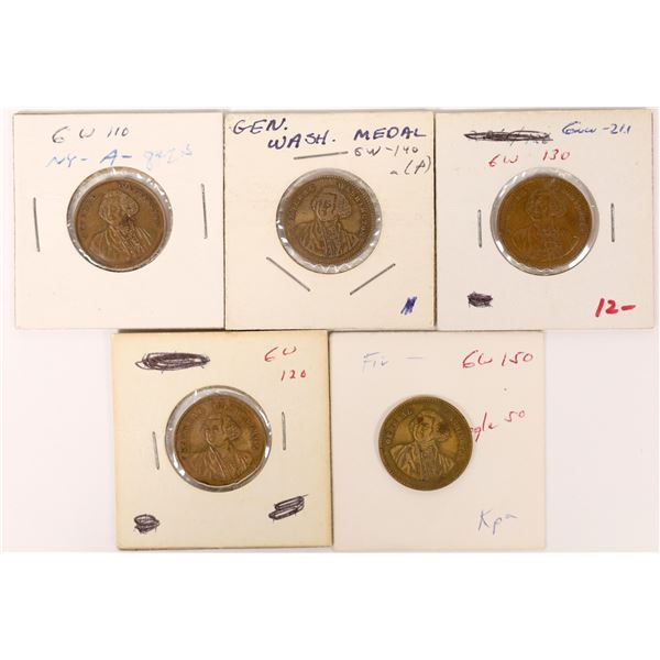 George Washington $5  Counter Varieties  [126117]