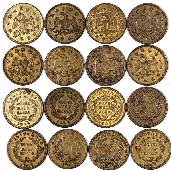 California Model Half Eagle Counters  [129354]