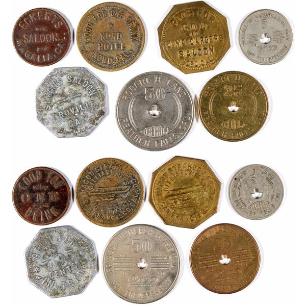 Butte County Tokens  [132111]