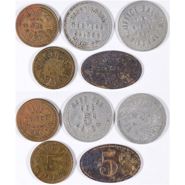 Chico Saloon Tokens  [132108]