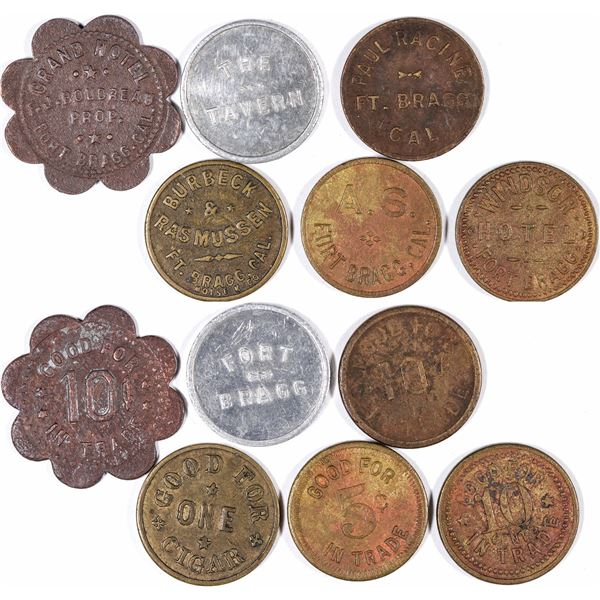 Fort Bragg Token Collection  [132135]