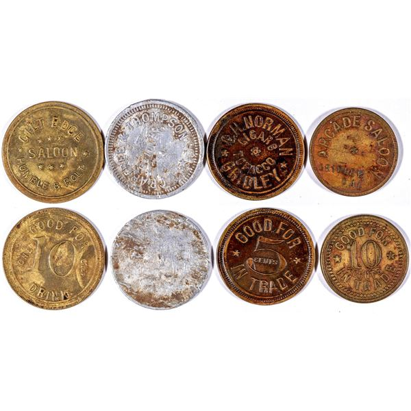 Gridley Token Collection  [132014]