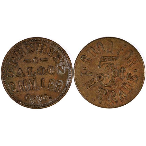 Penryn Saloon Token  [132147]