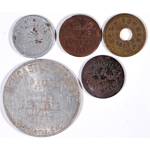 Placer County Tokens  [132146]