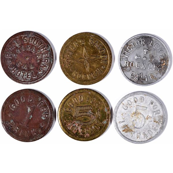 Porters Saloon and other Tokens  [132016]