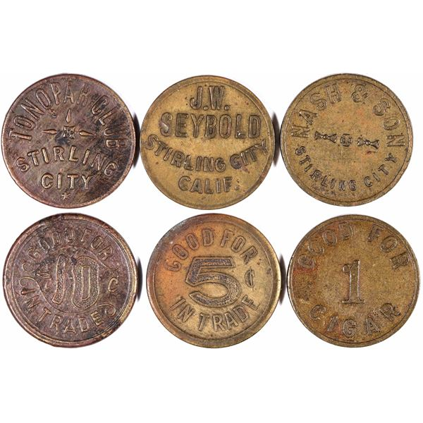Stirling City Tokens  [132132]