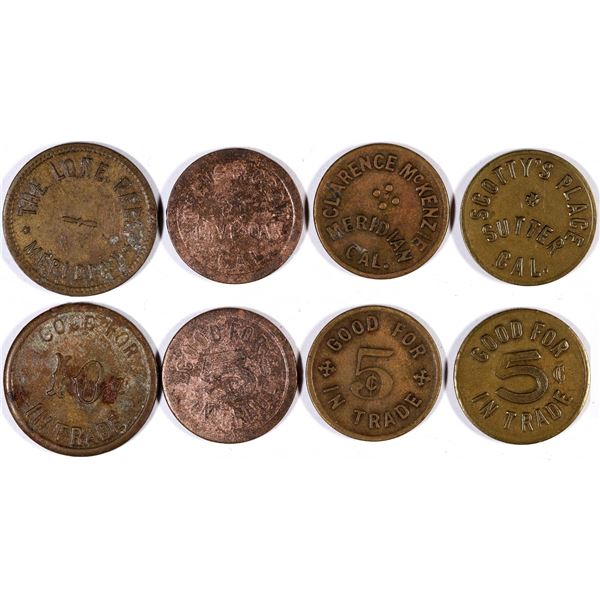 Sutter County Tokens  [132157]